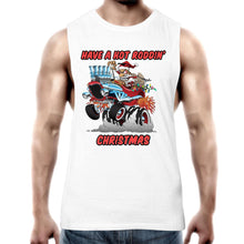 Load image into Gallery viewer, HOT RODDIN' CHRISTMAS - Mens Tank Top Tee XS-2XL