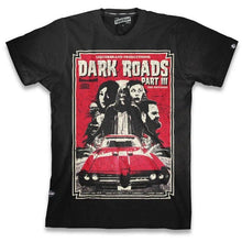 Load image into Gallery viewer, LIQUORBRAND MENS TSHIRT DARK ROADS