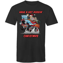 Load image into Gallery viewer, HOT RODDIN' CHRISTMAS - Mens T-Shirt XS-5XL