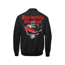 Load image into Gallery viewer, PSYCHOBILLY HOTROD Kid's Hot Rod Print Bomber Jacket XS-XL