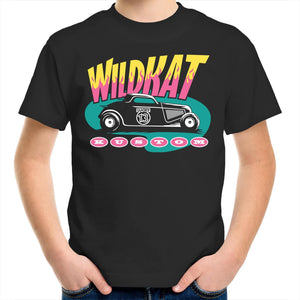 WILDKAT Kids Youth Crew T-Shirt 2-14