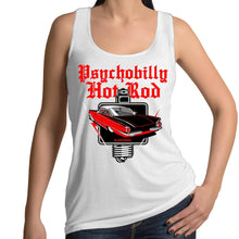 Load image into Gallery viewer, PSYCHOBILLY HOTROD - Womens Singlet 8-16