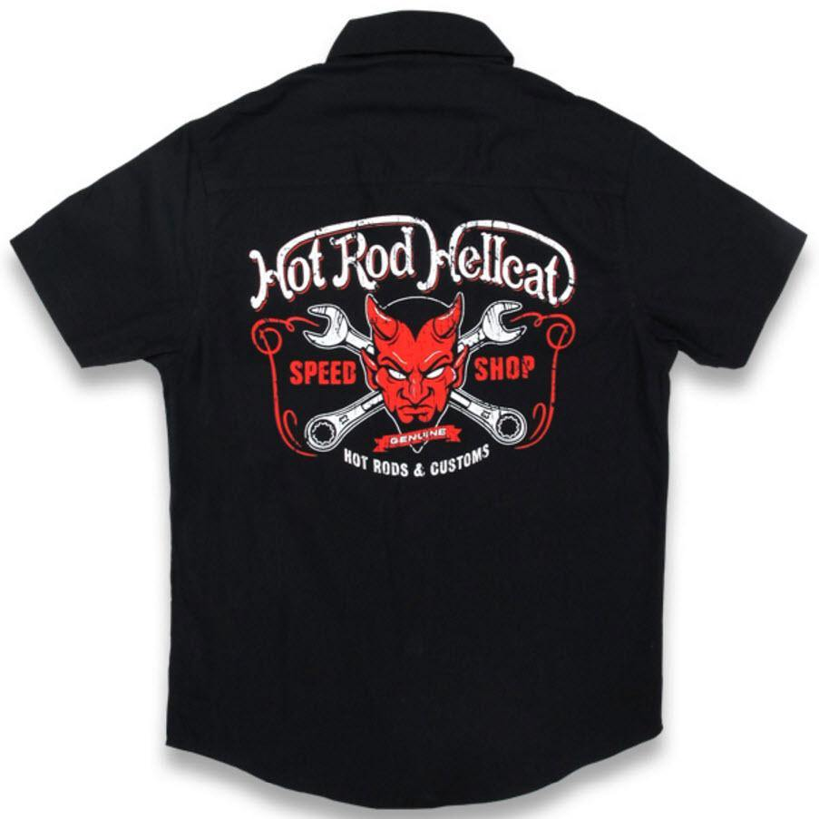 HOTROD HELLCAT Kids Devil Button Up Shirt