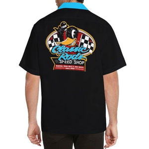 CLASSIC RODS Men's Rockabilly Hotrod Shirt S-5XL