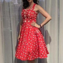 Load image into Gallery viewer, HEARTS Rockabilly Retro Dresses