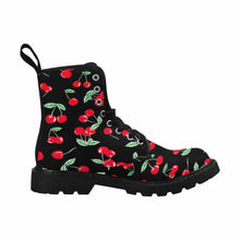 Load image into Gallery viewer, Cherry Pops Women's Lace Up Canvas Boots