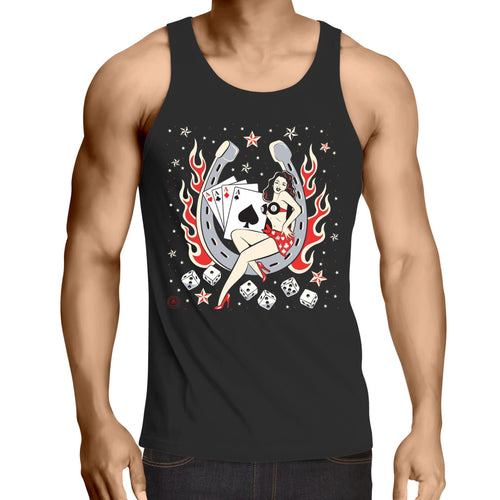 Aces High - Mens Singlet Top