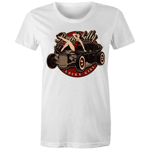 LUCKY GIRL - Womens T-shirt 8-20