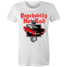 Load image into Gallery viewer, PSYCHOBILLY HOTROD - Womens T-shirt 8-20