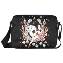 Load image into Gallery viewer, UNISEX Crossbody Nylon Satchel Bag ACES HIGH