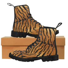 Load image into Gallery viewer, TIGER ARMY Women's Lace Up Canvas Boots
