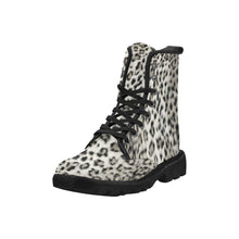Load image into Gallery viewer, SNOW LEOPARD Women's Lace Up Canvas Boots