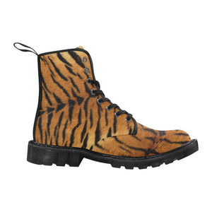 TIGER ARMY Women's Lace Up Canvas Boots