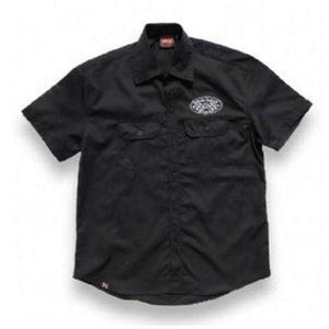 HOTROD HELLCAT BUTTON UP WORK SHIRT SPEED SHOP