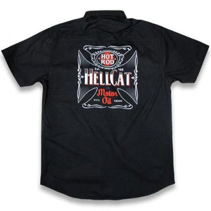 HOTROD HELLCAT BUTTON UP DEVIL GRADE