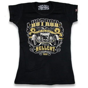 HOTROD HELLCAT EAT MY DUST ladies Tshirt