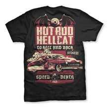 Load image into Gallery viewer, HOTROD HELLCAT MENS TSHIRT SPEED DEATH