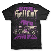 Load image into Gallery viewer, HOTROD HELLCAT MENS TSHIRT SPEED KILLS