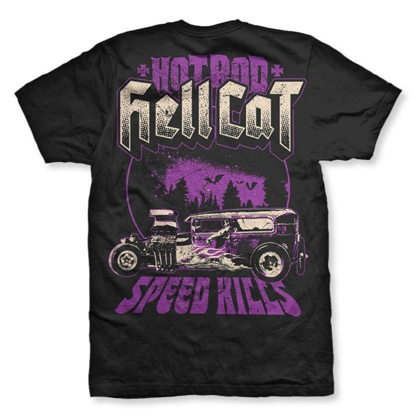 HOTROD HELLCAT MENS TSHIRT SPEED KILLS