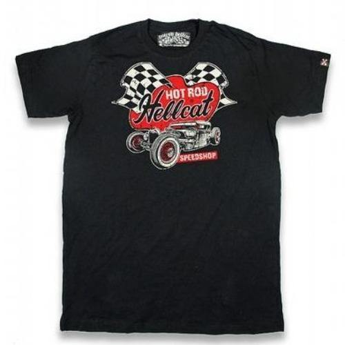 HOTROD HELLCAT MENS TSHIRT SPEED SHOP