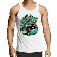 Load image into Gallery viewer, KOOLRODS TURQUOISE - Mens Singlet Top S-2XL
