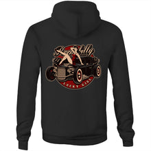Load image into Gallery viewer, LUCKY GIRL - UNISEX FLEECY HOODIE