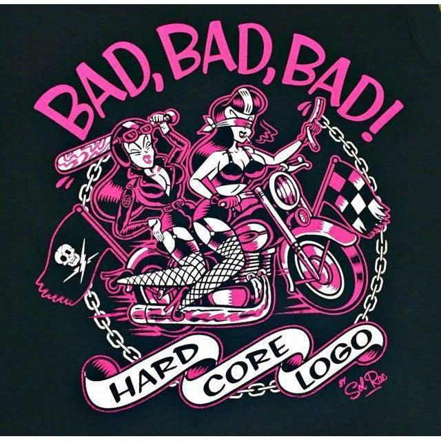 HARDCORE Logo BAD BAD BAD Tshirt S to 3XL