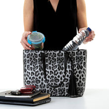 Load image into Gallery viewer, Belinda Cool Clutch (Leopard) Cooler Bag Tote`handbag insulated wine lunch handbags