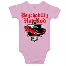 Load image into Gallery viewer, PSYCHOBILLY HOTROD - Baby Onesie Romper
