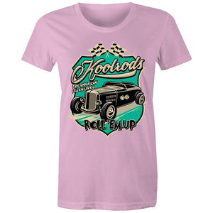 KOOLRODS (TURQUOISE) - Womens T-shirt 8-20