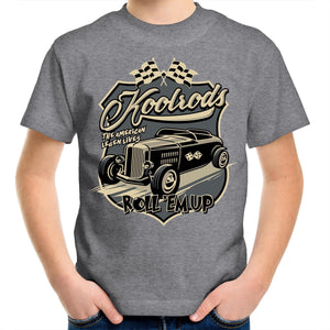 KOOLRODS Kids Youth Crew T-Shirt 2-14