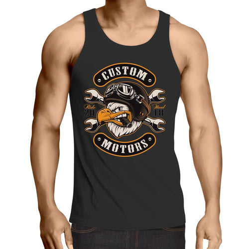 Custom Motors - Mens Singlet Top