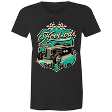 Load image into Gallery viewer, KOOLRODS (TURQUOISE) - Womens T-shirt 8-20