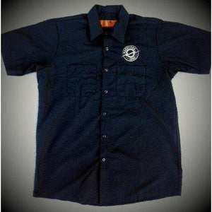 HARDCORE LOGO BUTTON UP WORK SHIRT MR SPECIAL - M to 5XL