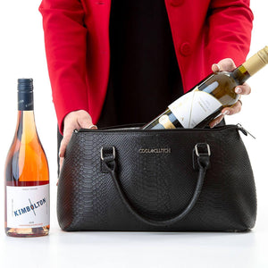 Kate Cool Clutch (Black) Wine Cooler bag