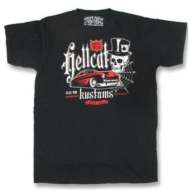 HOTROD HELLCAT MENS TSHIRT KUSTOMS