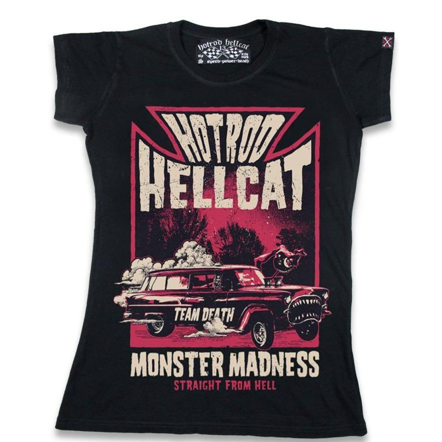 HOTROD HELLCAT Monster Madness Ladies Tshirt