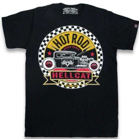 HOTROD HELLCAT MENS TSHIRT SPEED PARTS