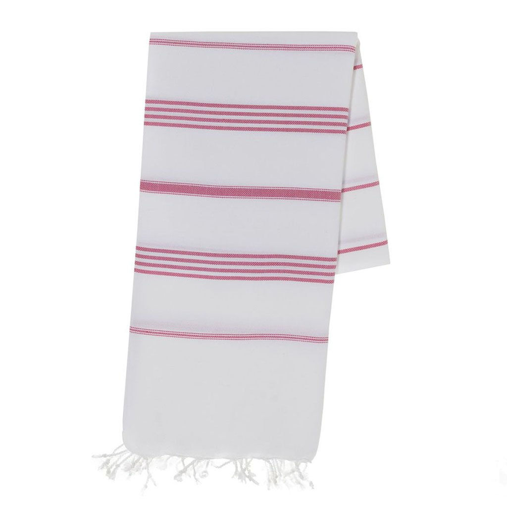 disndatmarket,Classic Rose Stripe Turkish Towel,disNdatmarket,Home - Homeware