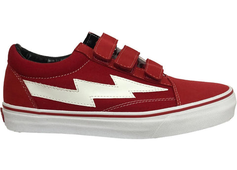 705d1e8af0aa Revenge X Storm Low Top Velcro Red – Piff Dev