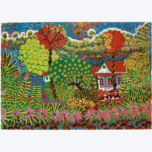 Boyd-Dunlop Gallery Napier Hawkes Bay Hastings Street Patrick Tyman Screen Print Oil painting Floral art tiger house