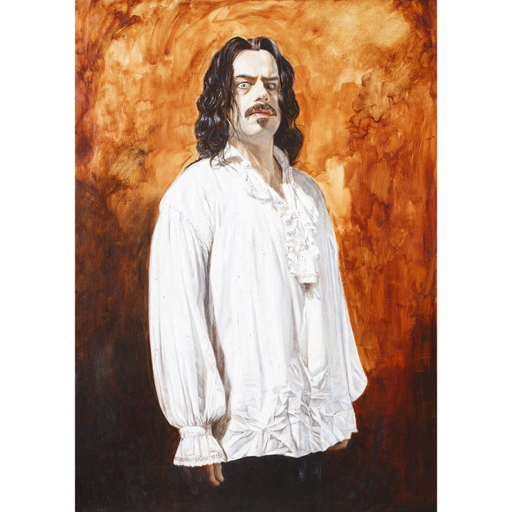Boyd-Dunlop Gallery Napier Hawkes Bay Freeman White Portraits Oil Painting Vampires What We Do In The Shadows Viago Taika Waititi Jermaine Clement Vladislav Deacon
