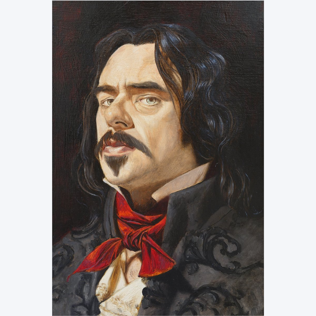 Boyd-Dunlop Gallery Napier Hawkes Bay Freeman White Portraits Oil Painting Vampires What We Do In The Shadows Viago Taika Waititi Jermaine Clement Vladislav
