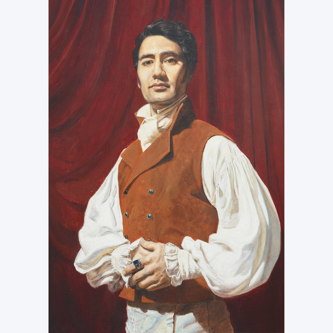 Boyd-Dunlop Gallery Napier Hawkes Bay Freeman White Portraits Oil Painting Vampires What We Do In The Shadows Viago Taika Waititi