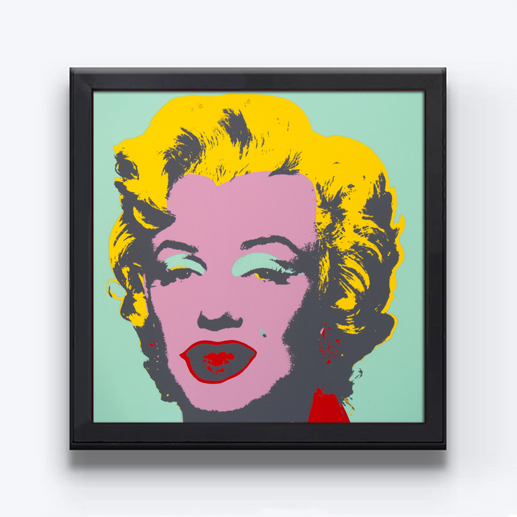 Boyd-Dunlop Gallery Napier Hawkes Bay Andy Warhol Sunday B Morning Marilyn Pop Art Silk Screen Screen Print Museum Grade Board Archival Inks Marilyn Monroe