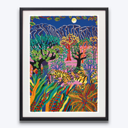 Boyd-Dunlop Gallery Napier Hawkes Bay Patrick Tyman Oil Painting Colour Floral Screen Print Limited Editions