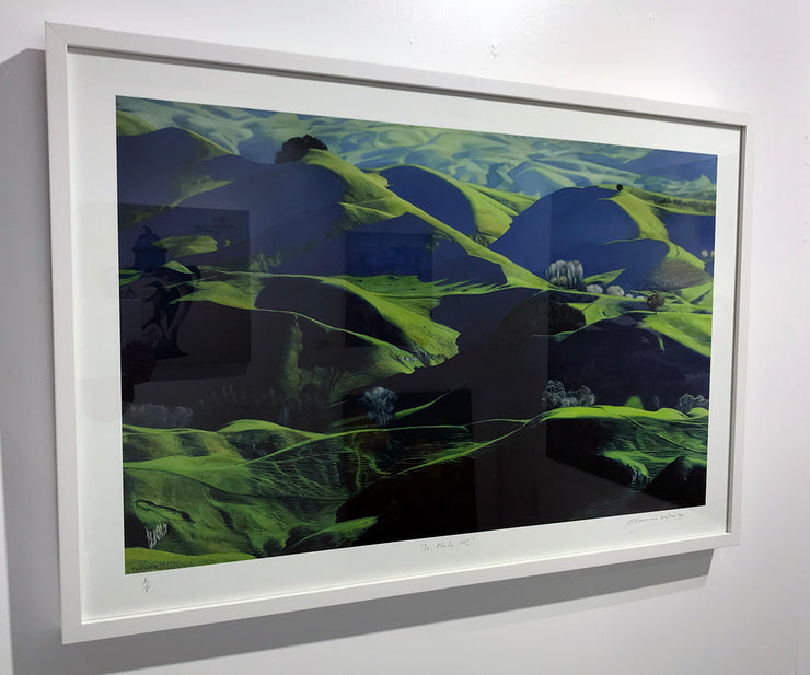 Boyd-Dunlop Gallery Napier Hawkes Bay Tuki Tuki Havelock North Freeman White Oil Painting Landscape Hills Te Mata Peak Scenic Artist