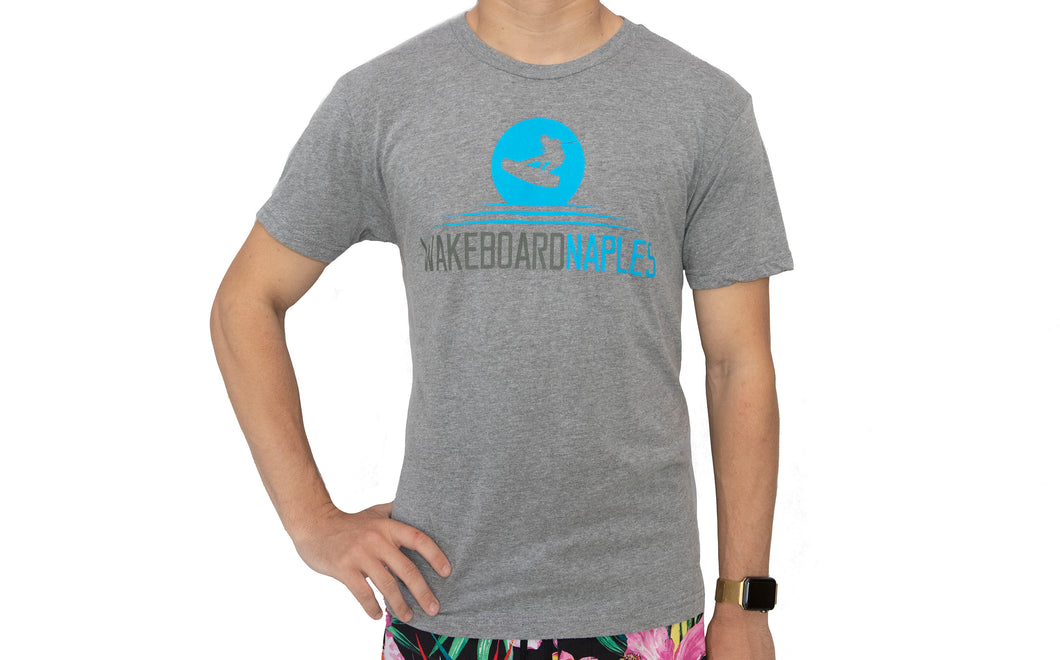 Wakeboard Naples Tee - Heather Gray