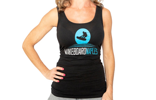 Wakeboard Naples Ladies Tank - Black