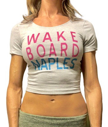 Wakeboard Naples Ladies Crop Top